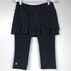 ATHLETA Tiered Skirt 2 N' 1 Capris